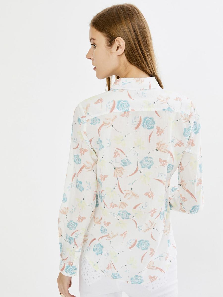 Xint Desenli Vual Gömlek