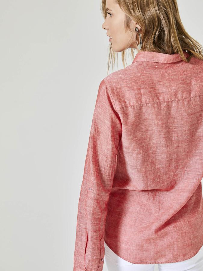 Xint Küçük Yakalı Basic Gömlek - Thumbnail