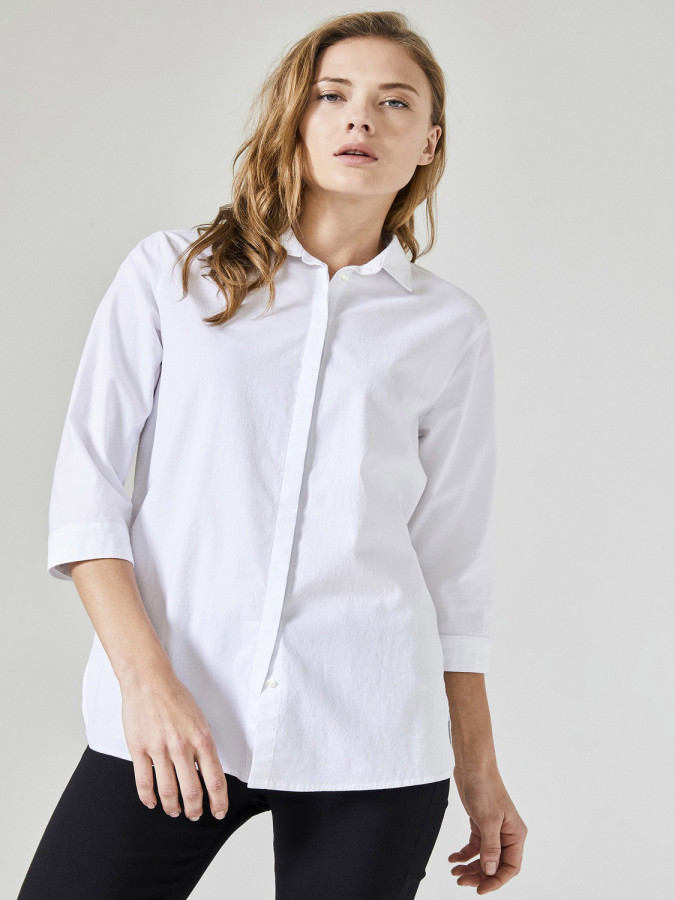 XINT - Xint Küçük Yakalı Rahat Kesim Gömlek (1)