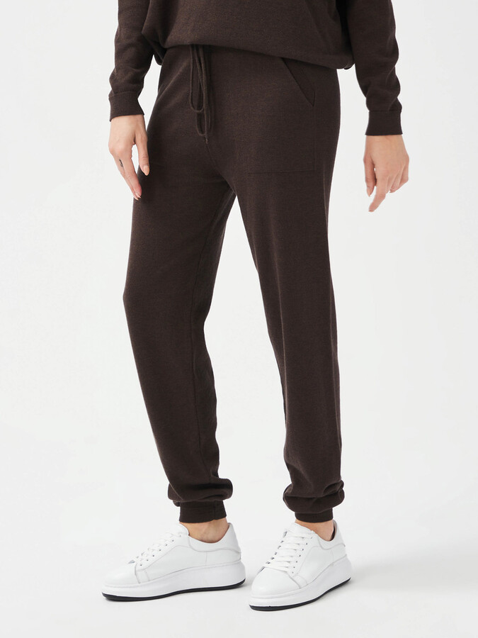 Rahat Kesim Pamuklu Triko Sweat Pantolon