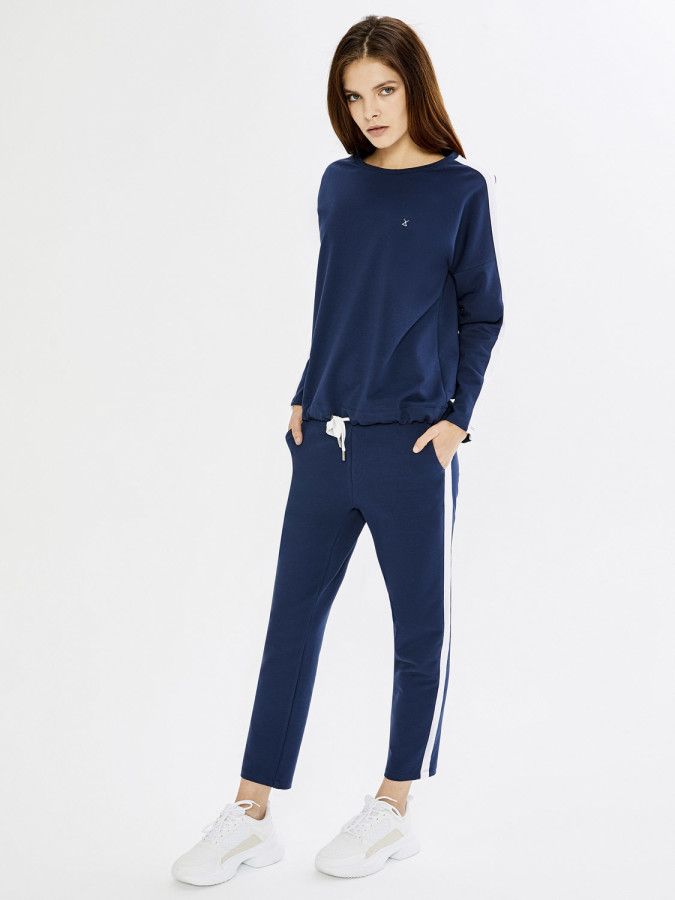 XINT - Xint Yanı Şeritli Sweat Pantolon (1)