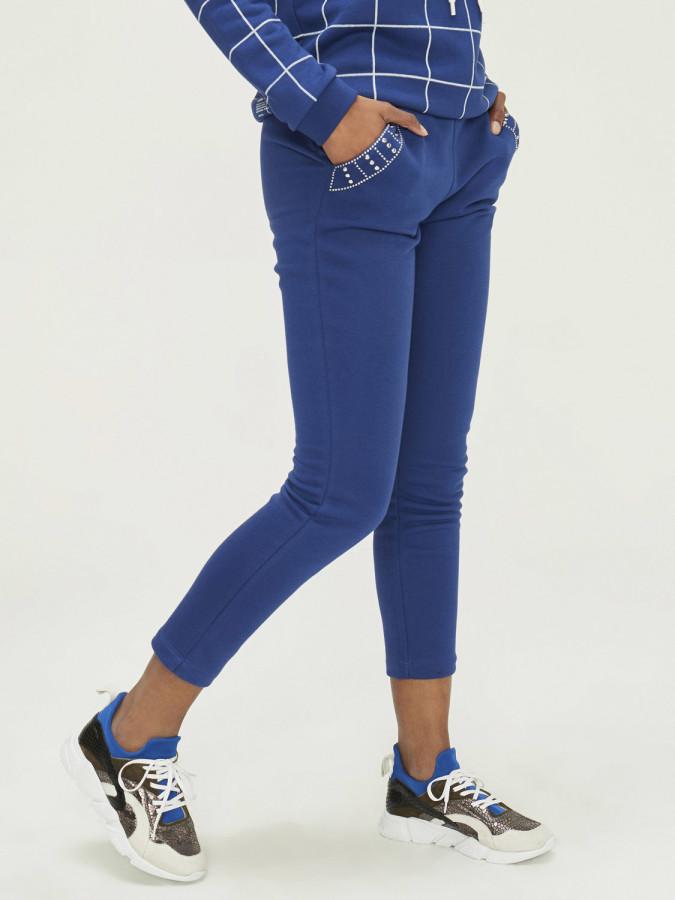 XINT - Xint Cep Kenarları Puntolu Sweat Pantolon (1)