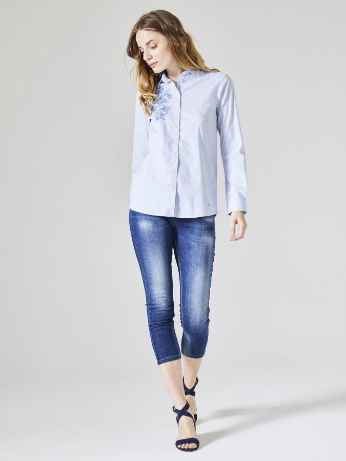 XINT - Xint Kısa Paça Skinny Denim Pantolon (1)