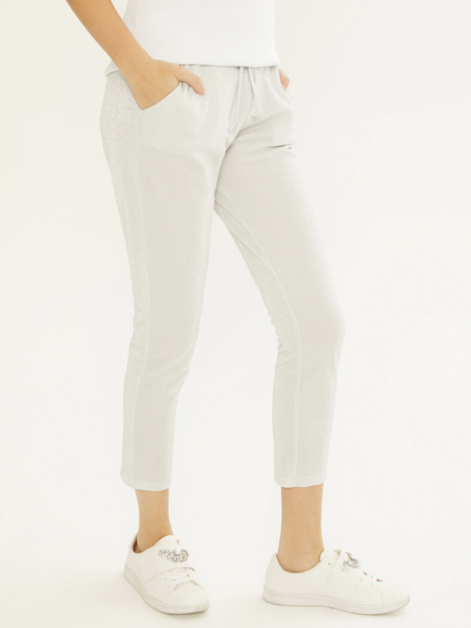 XINT - Xint Normal Bel Belden Bağlamalı Sweat Pantolon (1)