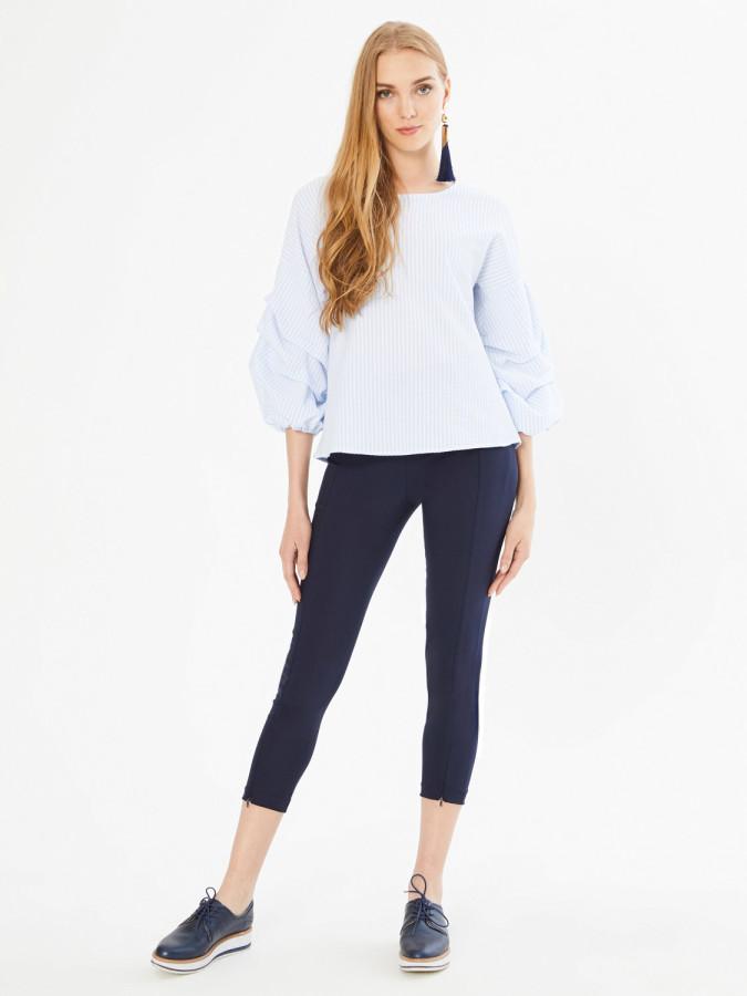 XINT - Xint Normal Bel Dar Paça Yandan Fermuarlı Pantolon