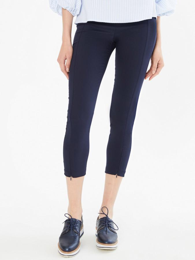 XINT - Xint Normal Bel Dar Paça Yandan Fermuarlı Pantolon (1)