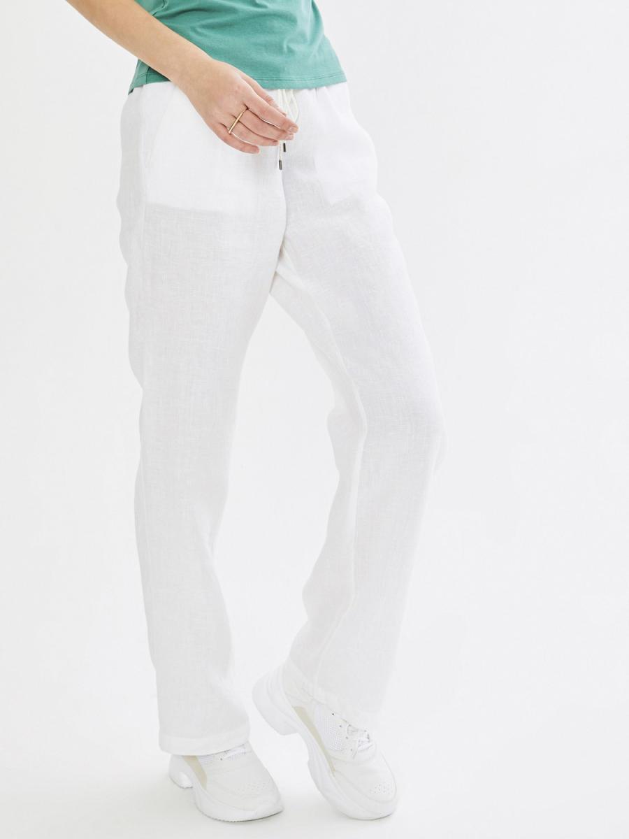Normal Bel %100 Keten Pantolon