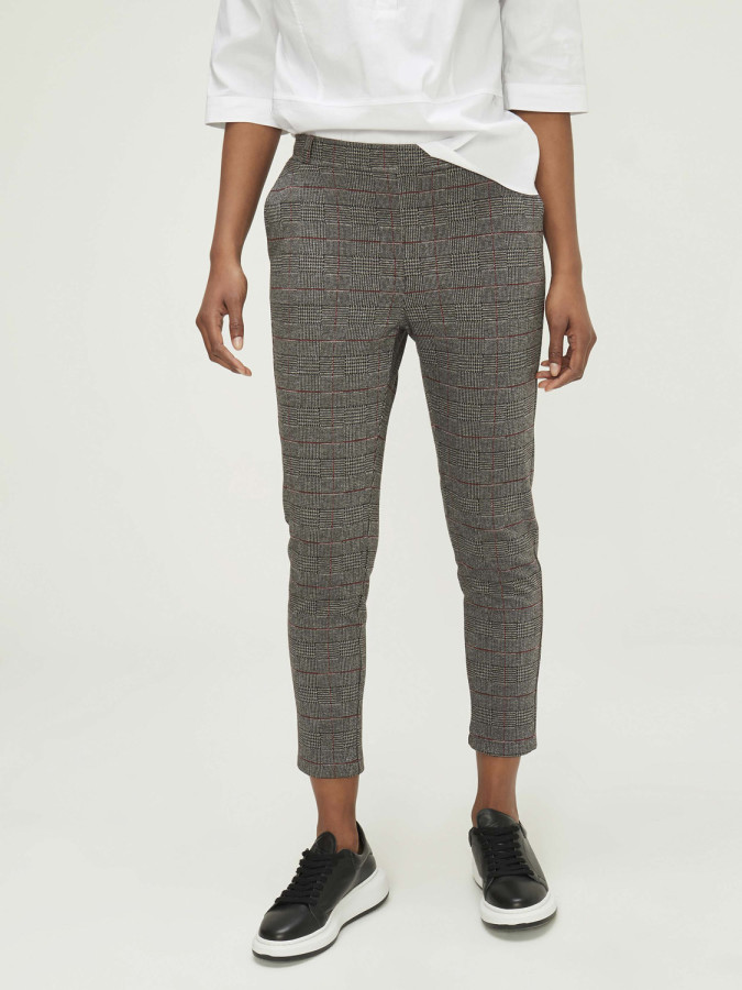 XINT - Xint Normal Bel Arka Kemeri Lastikli Pantolon (1)