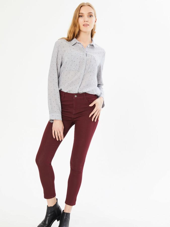 XINT - Xint Normal Bel Slim Fit 5 Cepli Pantolon