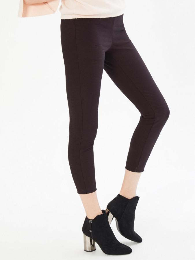 XINT - Xint Normal Bel Yandan Fermuarlı Skinny Kalıp Pantolon (1)
