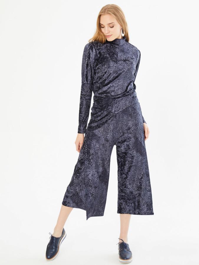 XINT - Xint Yüksek Bel Anvelop Kapamalı Pantolon