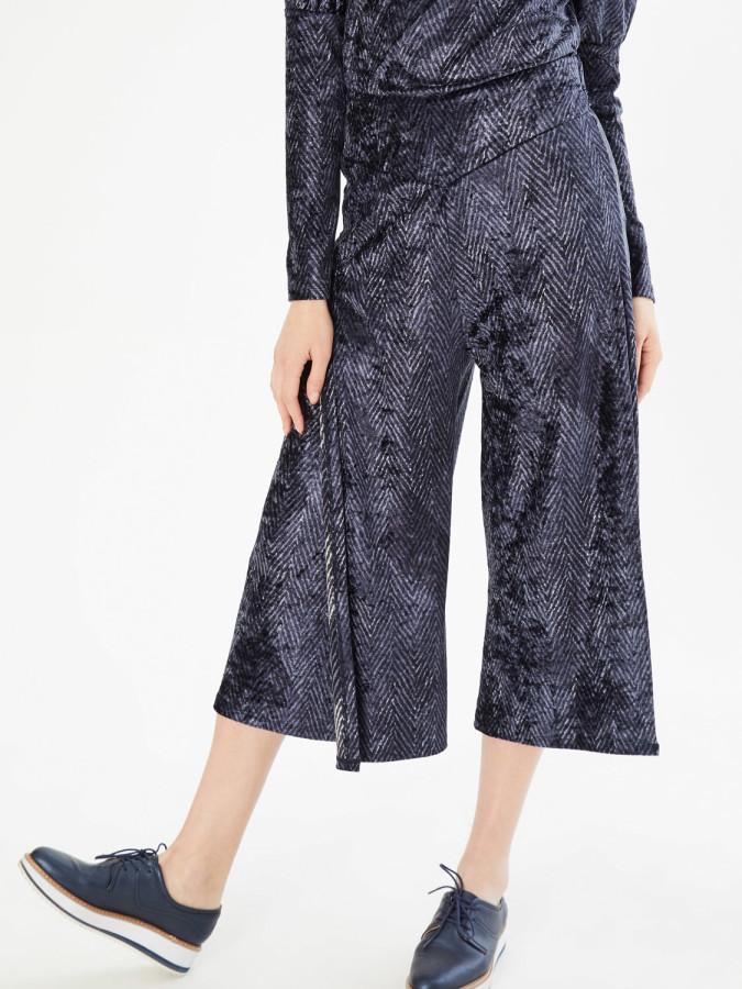 XINT - Xint Yüksek Bel Anvelop Kapamalı Pantolon (1)