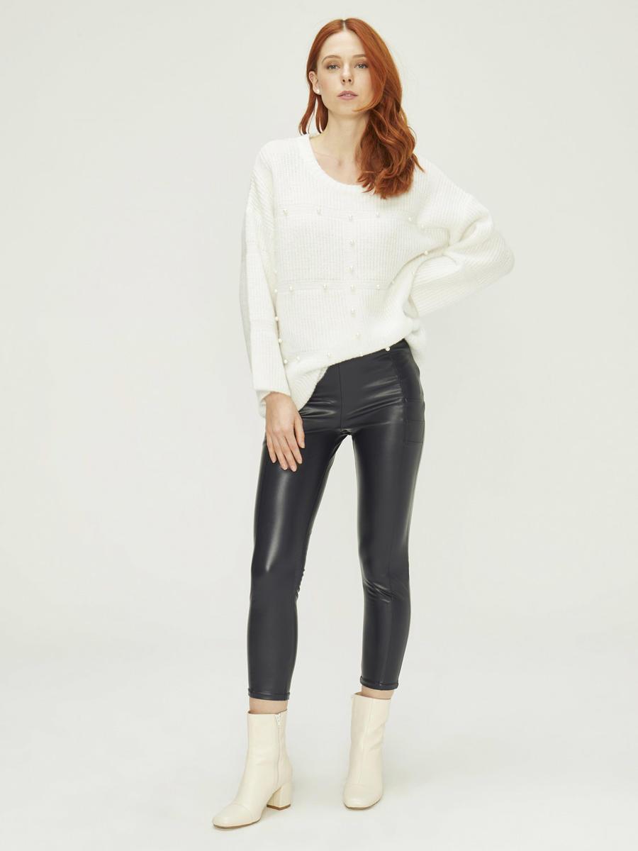 Xint Yüksek Bel Dar Form Pantolon
