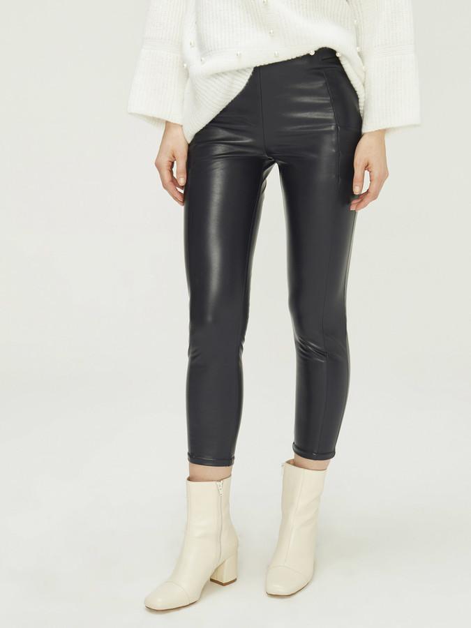 XINT - Xint Yüksek Bel Dar Form Pantolon (1)