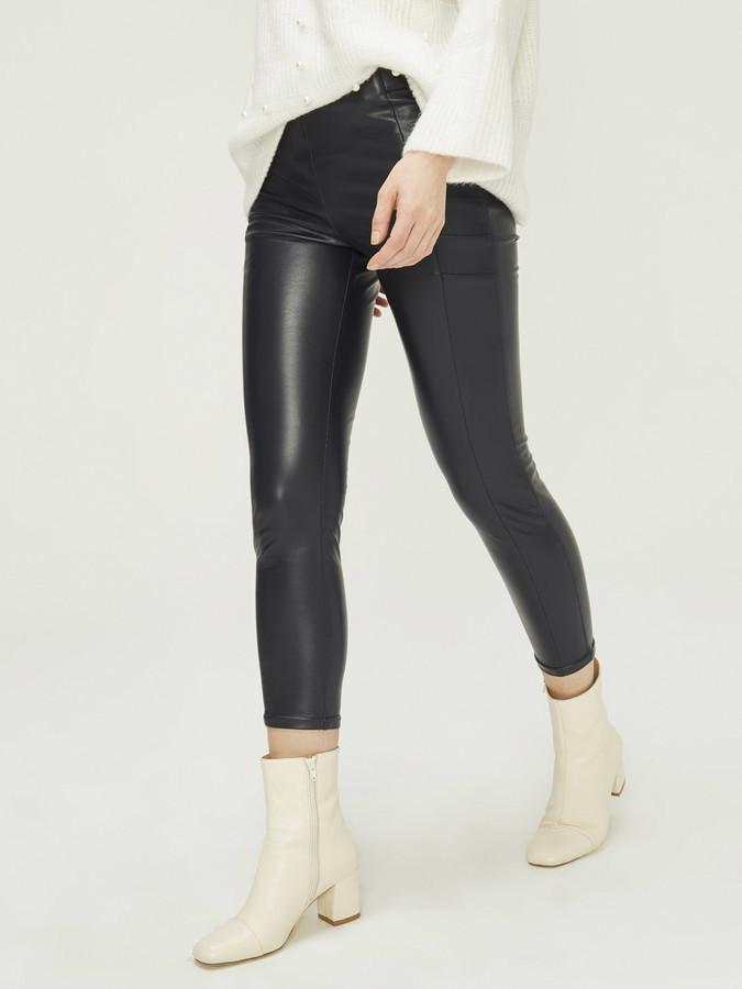 Xint Yüksek Bel Dar Form Pantolon - Thumbnail