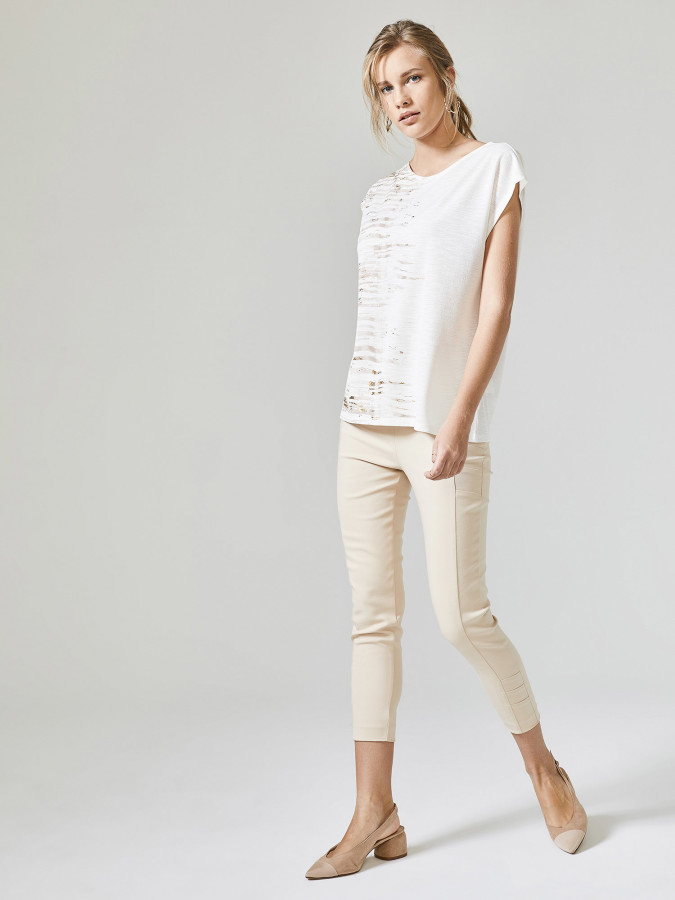 XINT - Xint Yüksek Bel Skinny Kalıp Pantolon