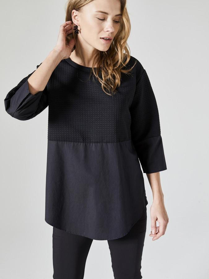 XINT - Xint Yuvarlak Yaka Geniş Kesim Sweatshirt