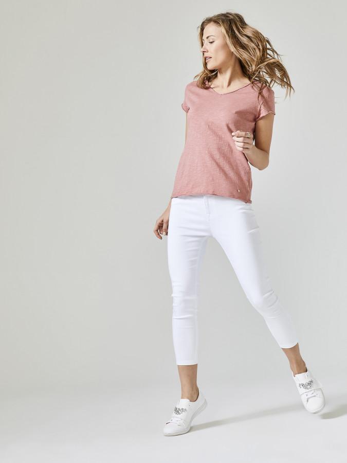 XINT - Xint V Yaka Rahat Form Tişört