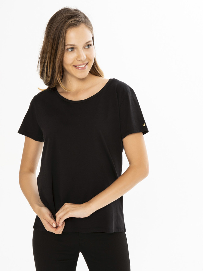XINT - Xint Yuvarlak Yaka Basic Tişört (1)