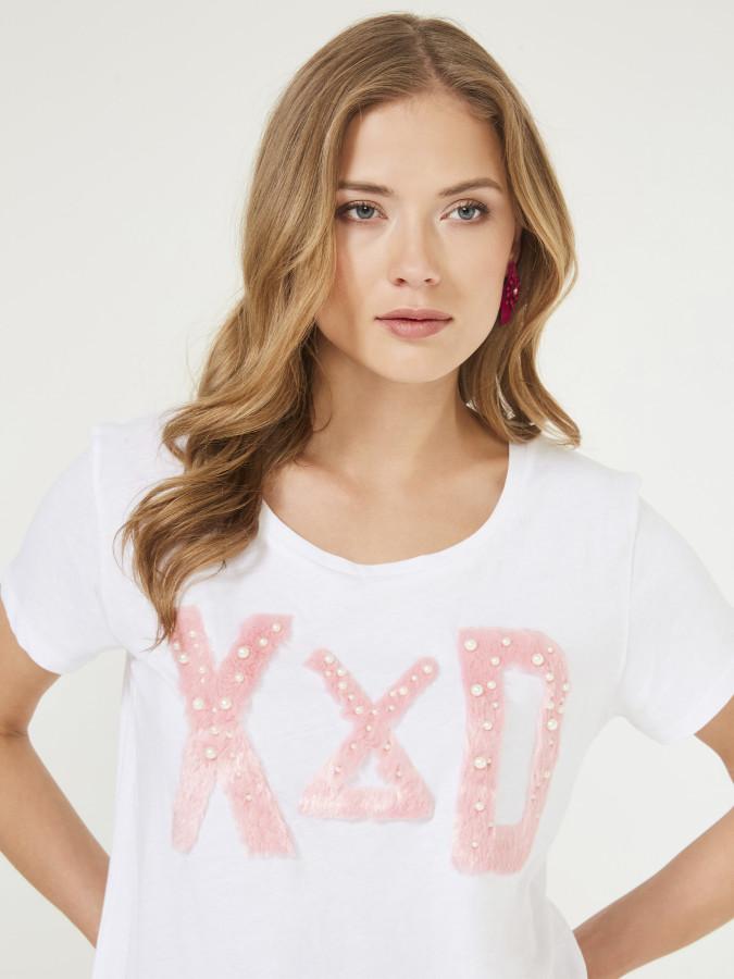 XINT - Xint Yuvarlak Yaka Rahat Form Tişört