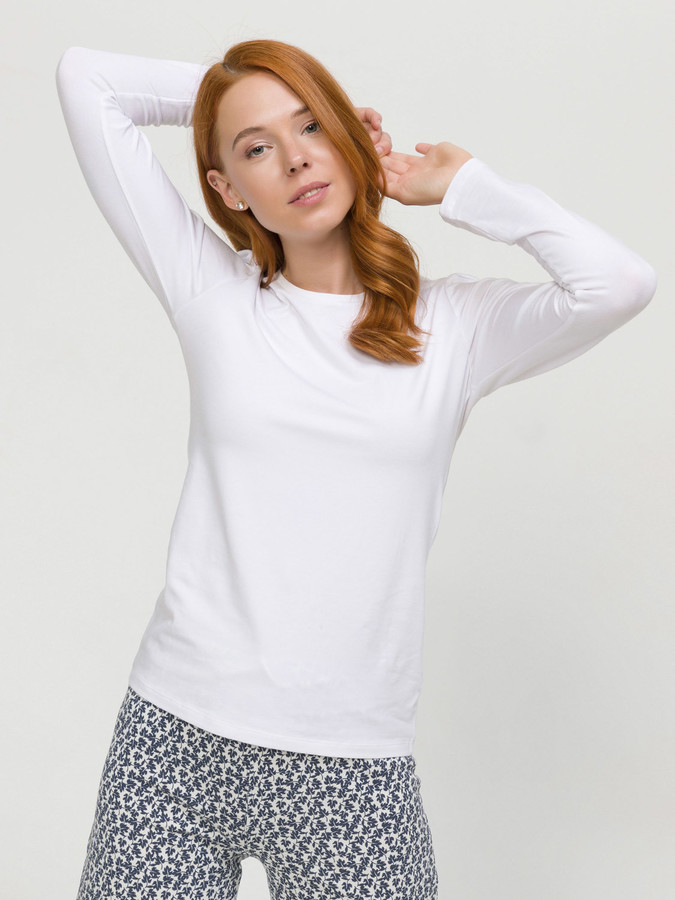 XINT - Xint Yuvarlak Yaka Uzun Kollu Basic Tişört (1)