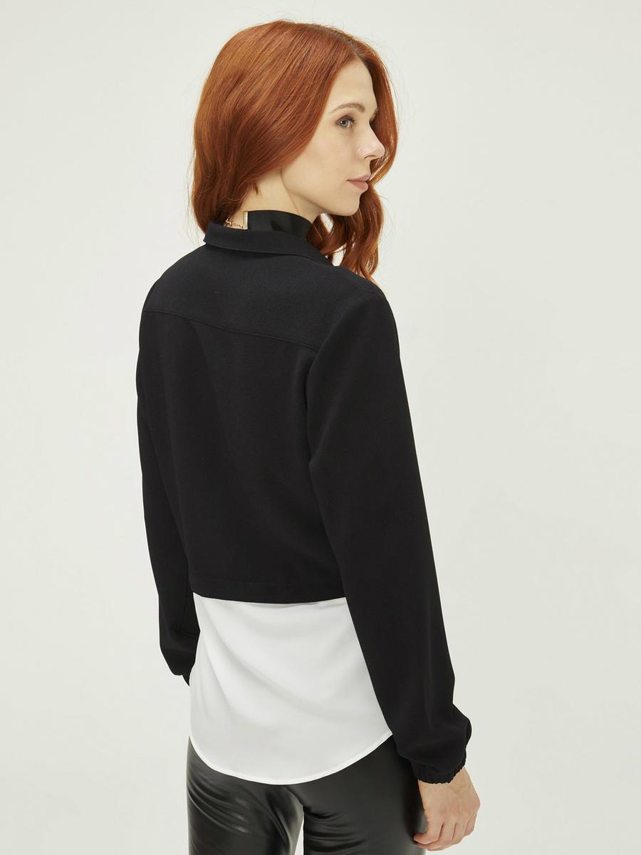 Xint Gömlek Detaylı Sweat Formlu Tunik