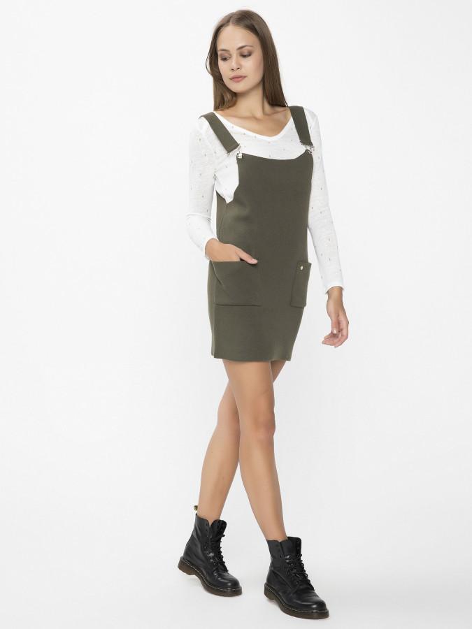 XINT - Xint Kalın Askılı Salopet Elbise (1)