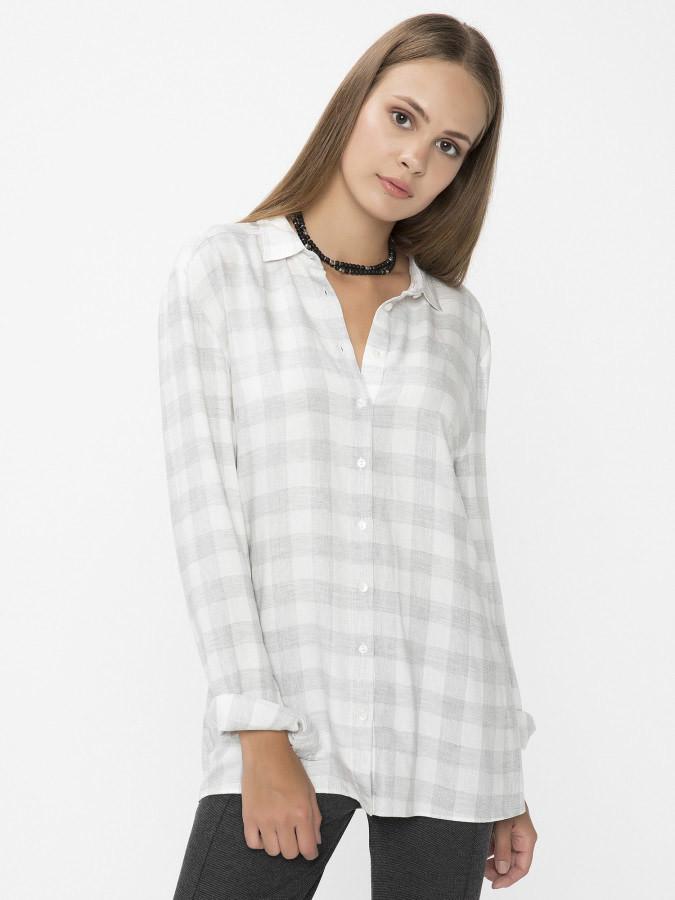 XINT - Xint Küçük Yakalı Gri Renk Gömlek
