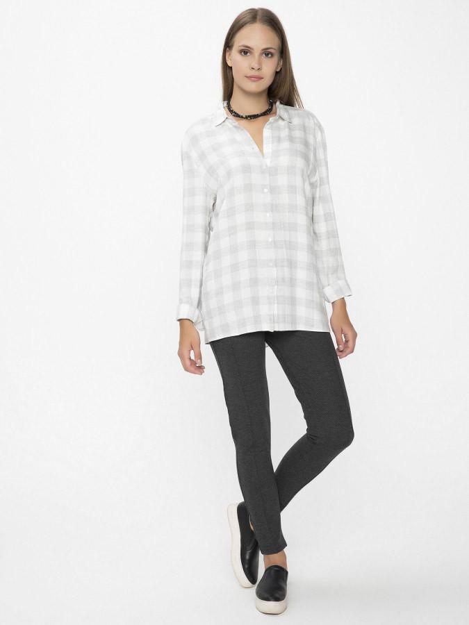 XINT - Xint Küçük Yakalı Gri Renk Gömlek (1)