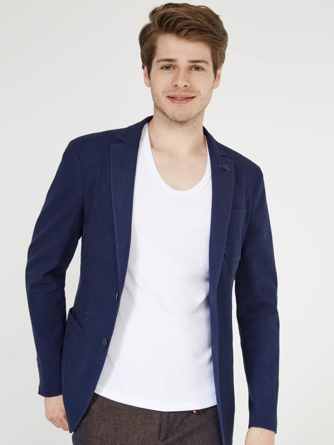XINT - Xint Lacivert Renk Ceket