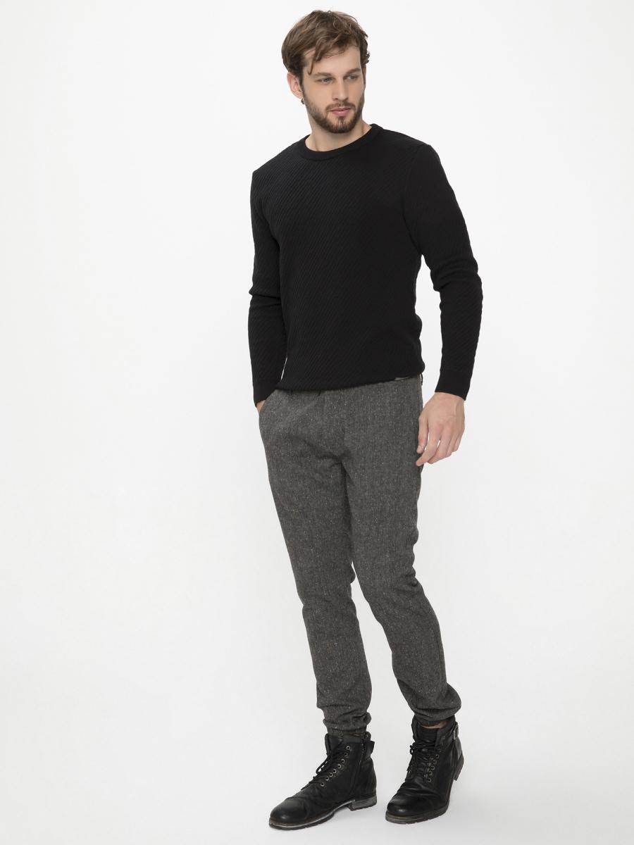 Xint Paçaları Lastikli Siyah Renk Pantolon