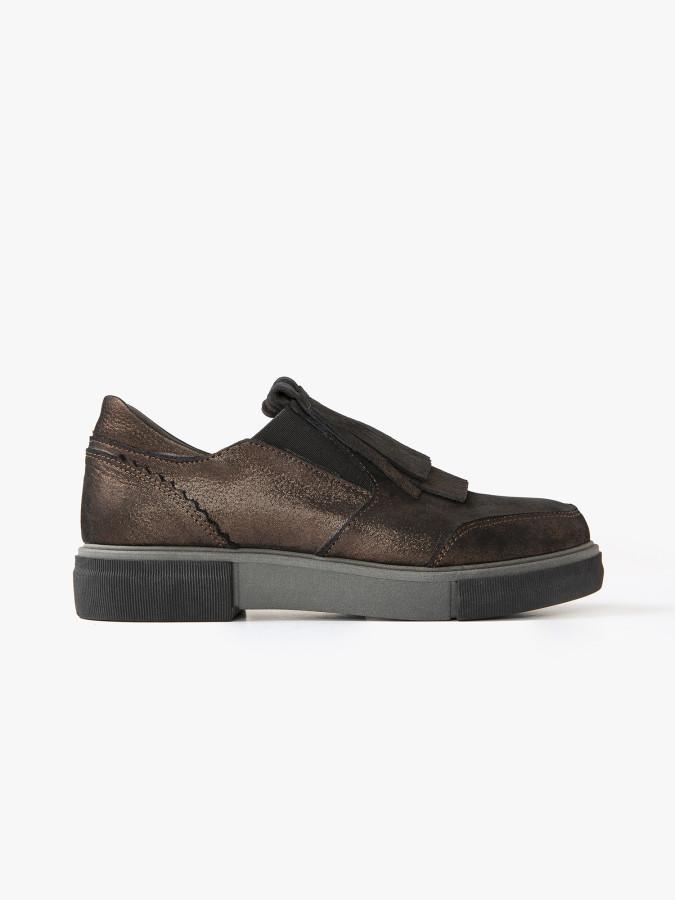 XINT - Xint Püskül Detaylı Blucher Ayakkabı